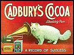 Cadbury's Cocoa Vintage Tin Sign