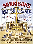 Harrison's Arizonic Soap Vintage Tin Sign