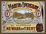 Martin and Openshaw Manufacturers Vintage Tin Sign