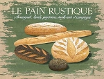 Le Pain Rustique Vintage Metal Sign