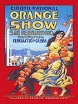 Orange Show Vintage Tin Sign