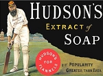 Hudson's Soap Metal Sign