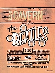 The Beatles the Cavern Vintage Tin Sign