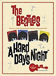 The Beatles A Hard Days Night Vintage Tin Sign