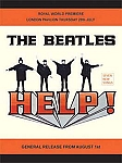 The Beatles HELP Vintage Tin Sign
