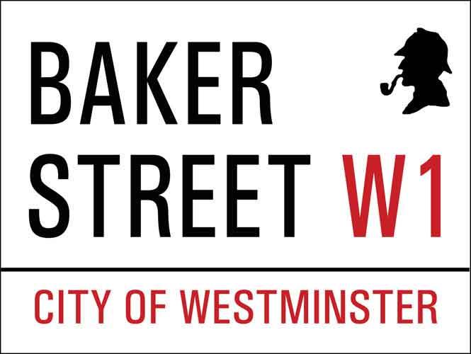 Baker Street Vintage Metal Sign
