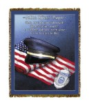 Police Officers Prayer Tapestry