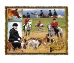Horse The Hunt Tapestry