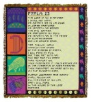 23rd Psalm Tapestry