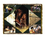 Horse Lovers Tapestry