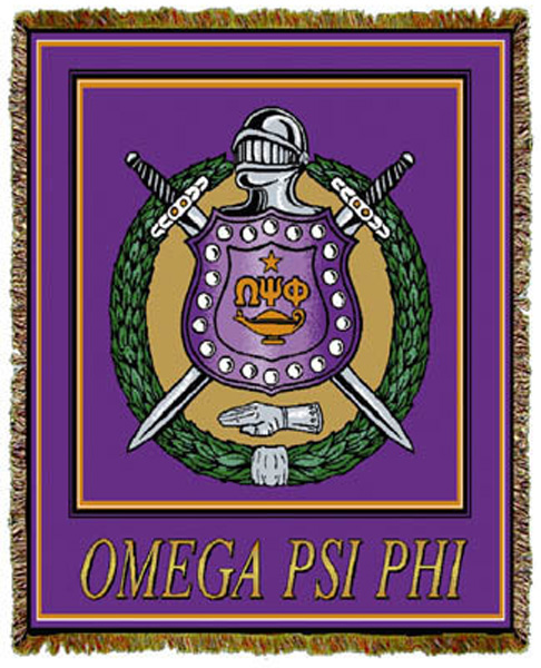 Omega Psi Phi Tapestry