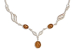 """17"""" Baltic Amber Necklace"""
