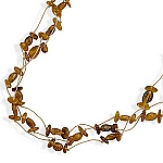 """20"""" Triple Strand Cord Necklace with Baltic Amber Beads With A FREE Set of Matching Earrings!"""
