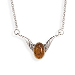 "16"" Baltic Amber Necklace"