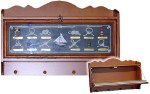Hanging Nautical Cabinet With Storage Knotboard