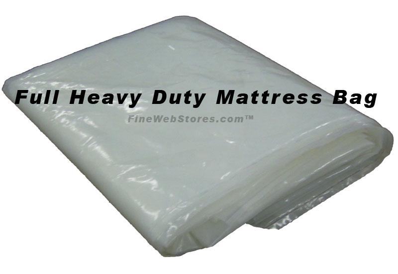 Full Size Heavy Duty Plastic Mattress Bag
