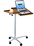 Tilting Wood Grain Laptop Desk