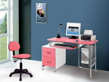 home home decor home office small kids pink computer desk