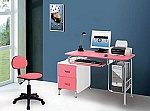 Small Kids Pink Computer Desk