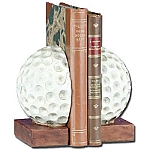 Golf Ball Book Ends