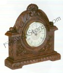 Rose Clock Antique Style