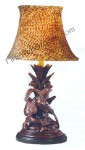 Three Pheasants Lamp