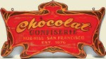 Chocolate Old West Sign