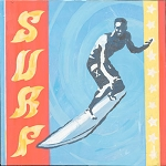 Surf the Wave Vintage Tin Sign