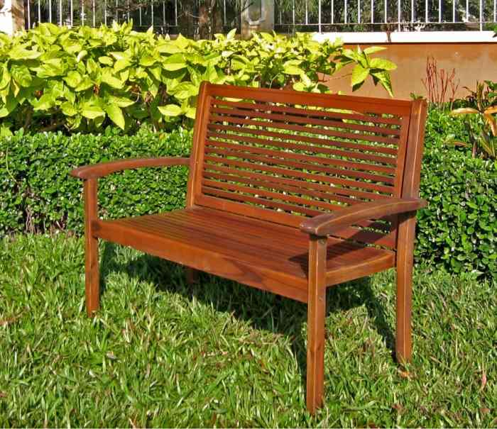 Furniture Outdoor Furniture Bench Contemporary