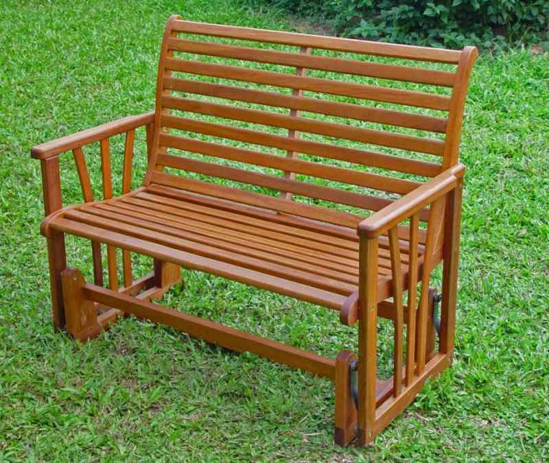 Wood bench glider together with 3 person outdoor glider benches