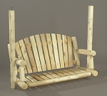 Unstained Natural Cedar American 4 Foot Garden Swing (Seat Only)