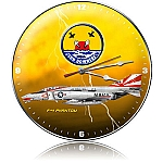 F-4 Sundowners Metal Clock