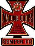 Semper Fi Vintage Metal Sign