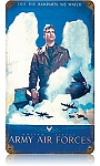 Army Air Forces Vintage Metal Sign