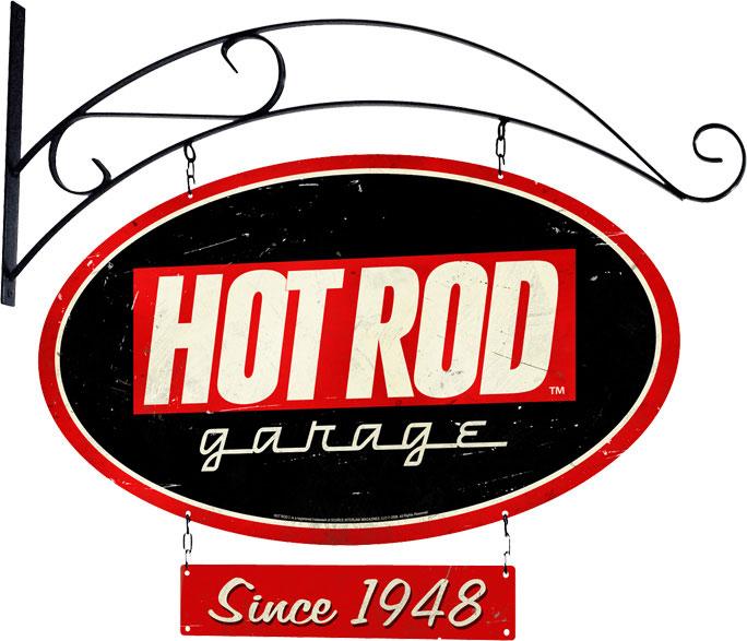 Old Garage Signs : Hot rod garage vintage metal sign