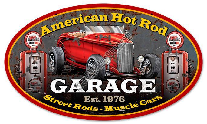 Vintage Hot Rod Signs 5