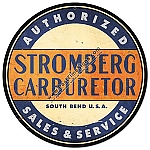 Stromburg Carbs Metal Sign