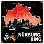 Nurburing Vintage Metal Sign