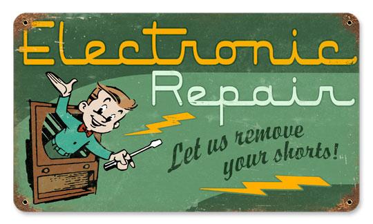 Vintage Electronic Repair 8