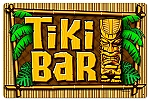 Tiki Bar Vintage Metal Sign
