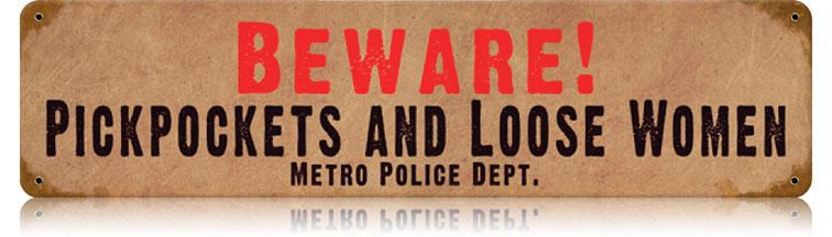 Beware Of Pickpockets - Nimbus