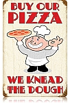 Our Pizza Vintage Metal Sign