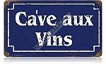 Wine Cellar Vintage Metal Sign