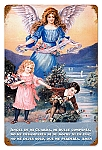 My Guardian Angel Vintage Metal Sign