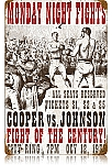 Fight of the Century Vintage Metal Sign