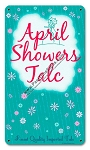 April Showers Talc Vintage Metal Sign