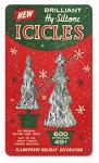 Christmas Tree  Icicles Vintage Metal Sign