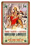 Hookah Lounge Vintage Metal Sign