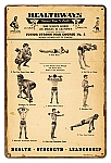 Healthways Gym Vintage Metal Sign