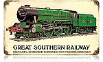 Great Southern Railway Vintage Metal Sign